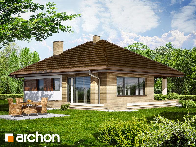 Проект: Дачный дом из бруса 6х6 м с мансардой, построим в